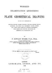 Worked examination questions in plane geometrical drawing