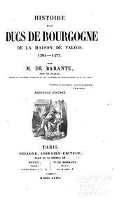 Histoire des ducs de Bourgogne de la maison de Valois, 1364-1477: Volume7