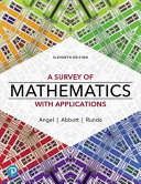 Mylab Math with Pearson Etext    Access Card    For a Survey of Mathematics with Applications  18 Weeks  PDF