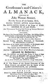 Gentleman's and Citizen's Almanack