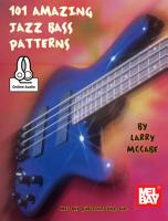 101 Amazing Jazz Bass Patterns PDF