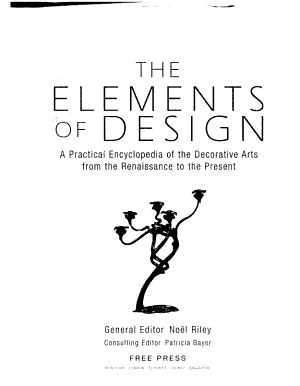 The Elements of Design PDF