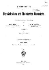 Zeitschrift für den physikalischen und chemischen Unterrich: Band 5