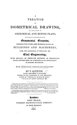 A Treatise on Isometrical Drawing     with     Engravings