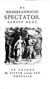 De Nederlandsche spectator: Volumes 1-2