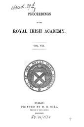 Proceedings of the Royal Irish Academy: for the year ..