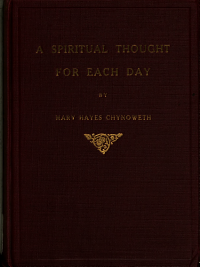 A Spiritual Thought for Each Day PDF
