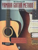 Yamaha Guitar Method  Book 1 PDF