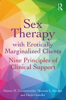 Sex Therapy with Erotically Marginalized Clients PDF