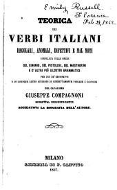 Teorica dei verbi italiani: regolari, anomali, difettivi e mal noti