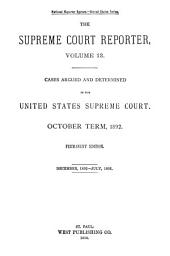 Supreme Court Reporter: Volume 13