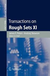 Transactions on Rough Sets XI