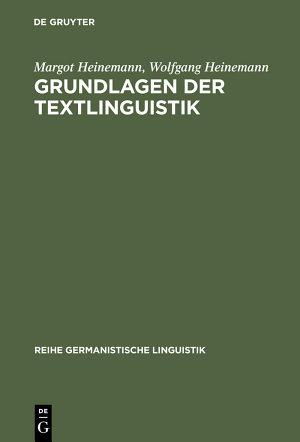 Grundlagen der Textlinguistik PDF