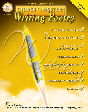 Student Booster  Writing Poetry  Grades 4   8 PDF