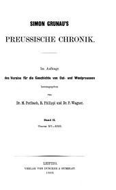 Simon Grunau's preussische Chronik: Band 2,Ausgabe 4