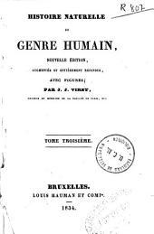 Histoire naturelle du genre humain: Volume3