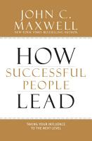 How Successful People Lead PDF