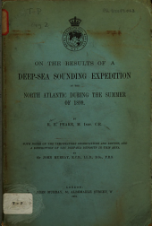 On the Results of a Deep-sea Sounding Expedition in the North Atlantic During the Summer of 1899