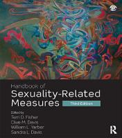 Handbook of Sexuality Related Measures PDF