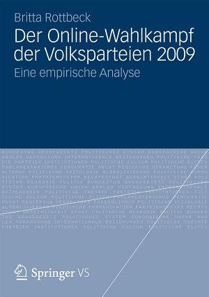 Der Online Wahlkampf der Volksparteien 2009 PDF