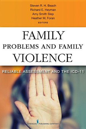 Family Problems and Family Violence PDF