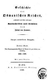 Geschichte des Osmanischen Reiches [...]: Band 3