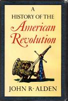 A History of the American Revolution PDF