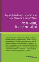 Vom Recht  Rechte zu haben PDF