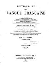 Dictionnaire de la langue française...: Volume5
