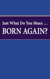 Just What Do You Mean Born Again?: Are you sure you are a born again Christian?