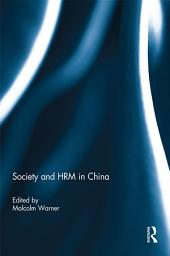 Society and HRM in China