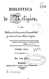 Biblioteca de religión: (1829. XXXII, 349 p.)