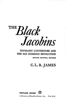 The Black Jacobins PDF