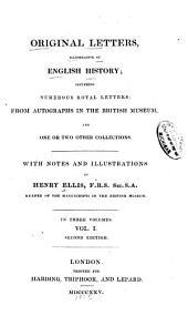 Original Letters, Illustrative of English History: 1418-1529