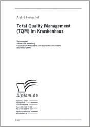Total Quality Management  TQM  im Krankenhaus PDF