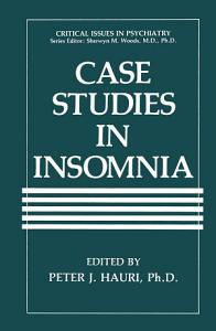 Case Studies in Insomnia