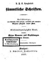 Prosaische Werke: in dreißig Bänden, mit ein und dreißig Stahlstichen. Kleine Romane und Erzählungen ; Bändchen 1. 22