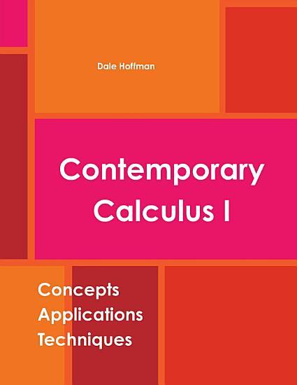 Contemporary Calculus I PDF