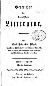 Geschichte der komischen litteratur: Band 3