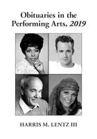 Obituaries in the Performing Arts  2019 PDF
