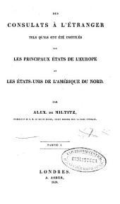 Manuel des consuls: Volumes1à2