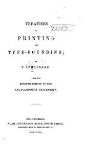 Treatise on Printing and Type-founding
