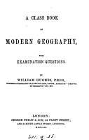 A class book of modern geography PDF
