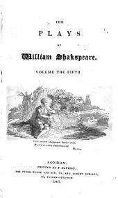 The Plays of William Shakspeare: King John