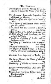 Four Treatises Concerning the Doctrine, Discipline and Worship of the Mahometans: Viz. I. An Abridgement of the Mahometan Religion: Translated Out of Arabick Into Latin by H. Reland, and from Thence Into English. II. A Defence of the Mahometans from Several Charges Falsly Laid Against Them by Christians: Written in Latin by H. Reland, and Translated Into English. III. A Treatise of Bobovius (sometime First Interpreter to Mahomet IV.) Concerning the Liturgy of the Turks, Their Pilgrimage to Mecca, Their Circumcision, Visitation of the Sick, &c. Translated from the Latin. IV. Reflections on Mahometanism and Socianism, Translated from the French. To which is Prefix'd, The Life and Actions of Mahomet, Extracted Chiefly from Mahometan Authors