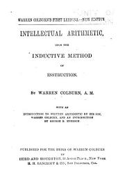Intellectual Arithmetic: Upon the Inductive Method of Instruction