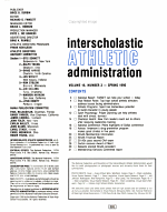 Interscholastic Athletic Administration