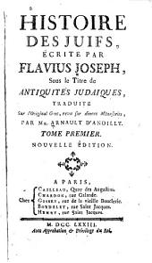 Histoire des juifs: Volume1