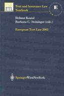 European Tort Law 2002