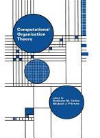 Computational Organization Theory PDF